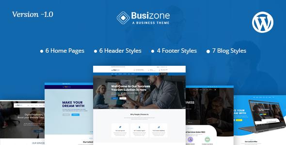 Busizone – Multipurpose WordPress Theme