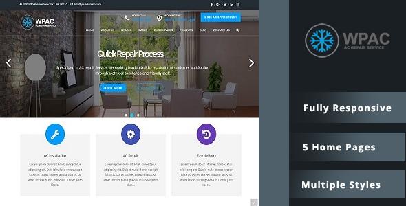 WPAC – AC Repair WordPress Theme