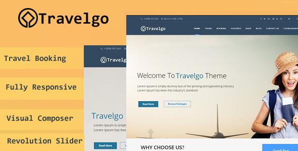Travelgo – Tour/Travel Booking WordPress Theme