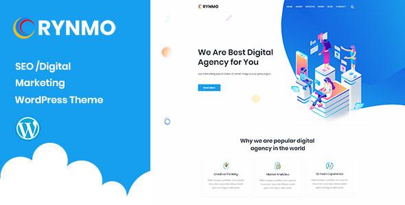 Rynmo – Digital Agency WordPress Theme