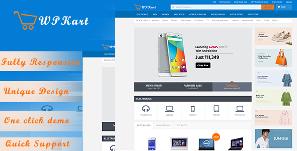 WPKart – Ecommerce Shopping WP Theme