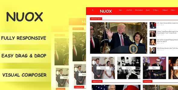 Nuox – Blog/Magzine WordPress Theme