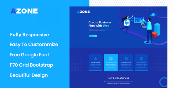 Azone – Business Agency WordPress Theme