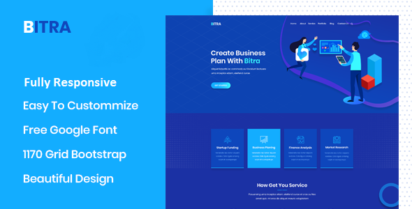Bitra – Business Consulting WordPress Theme