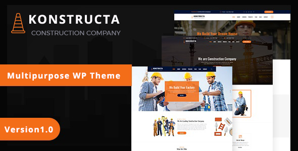 Konstructa – Construction WordPress Theme