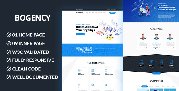Bogency – SEO Agency WordPres Theme