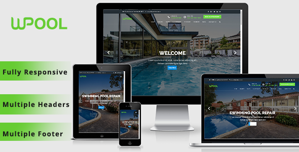 WPPOOL – Pool Cleaning WordPress Theme