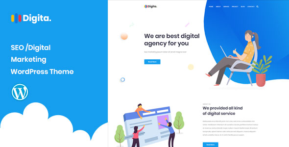Digita – SEO Agency WordPress Theme