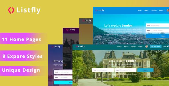 Listfly – Directory Listing WordPress Theme