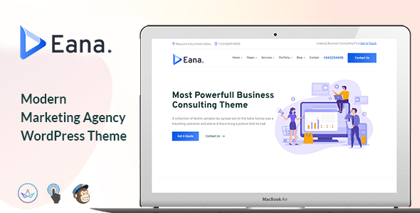 Eana – Business Consulting WordPress Theme