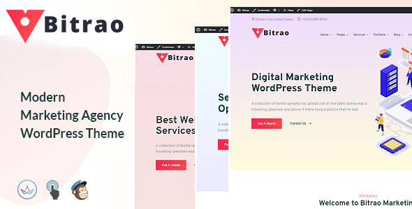 Bitrao – Multipurpose WordPress Theme